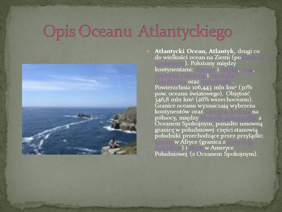 Opis Oceanu Atlantyckiego