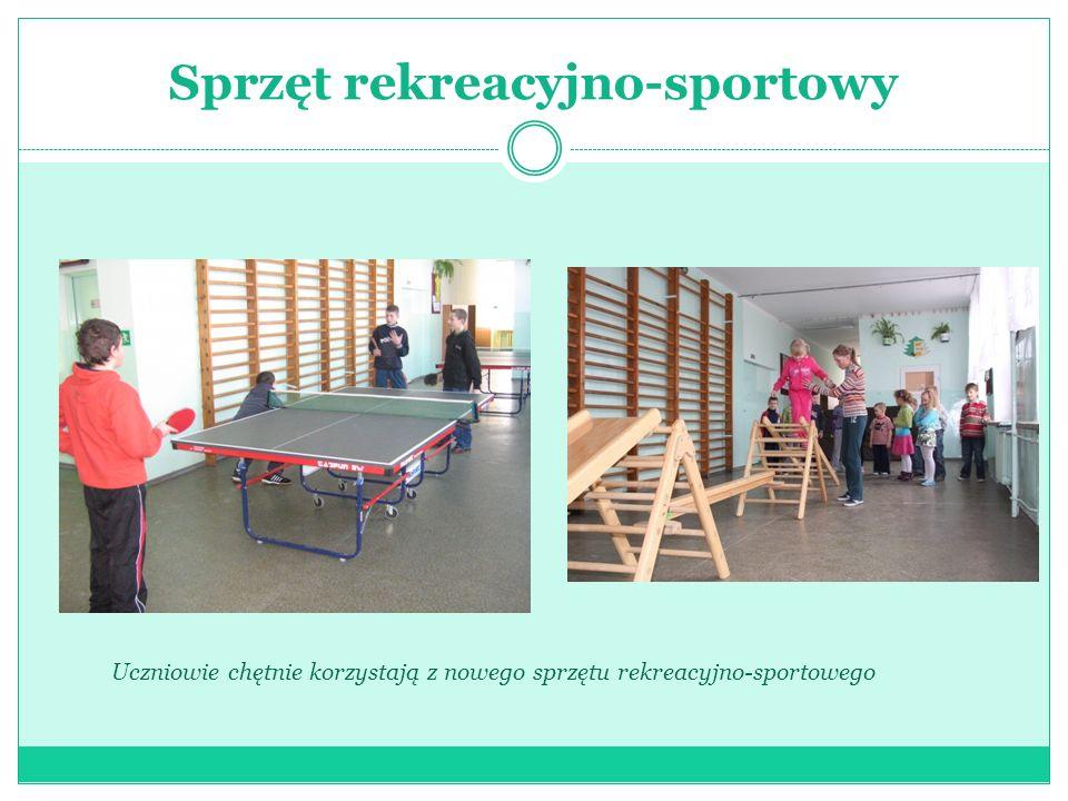 Sprzęt rekreacyjno-sportowy