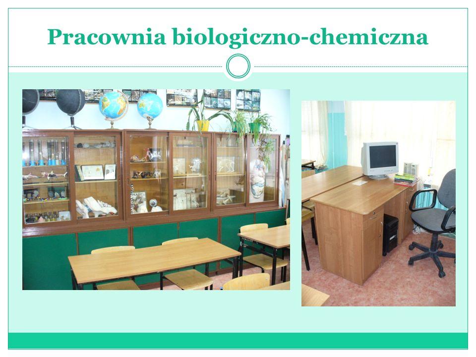 Pracownia biologiczno-chemiczna