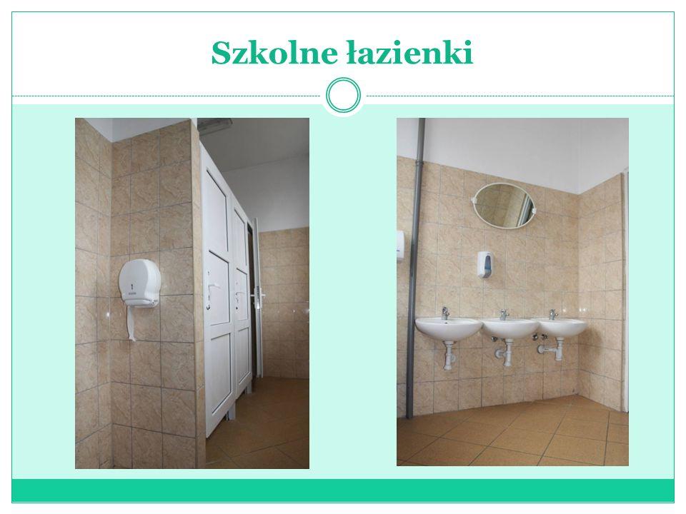 Szkolne łazienki