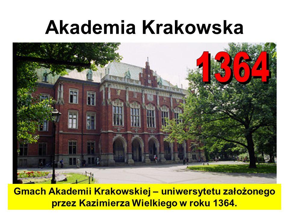 Akademia Krakowska 1364.