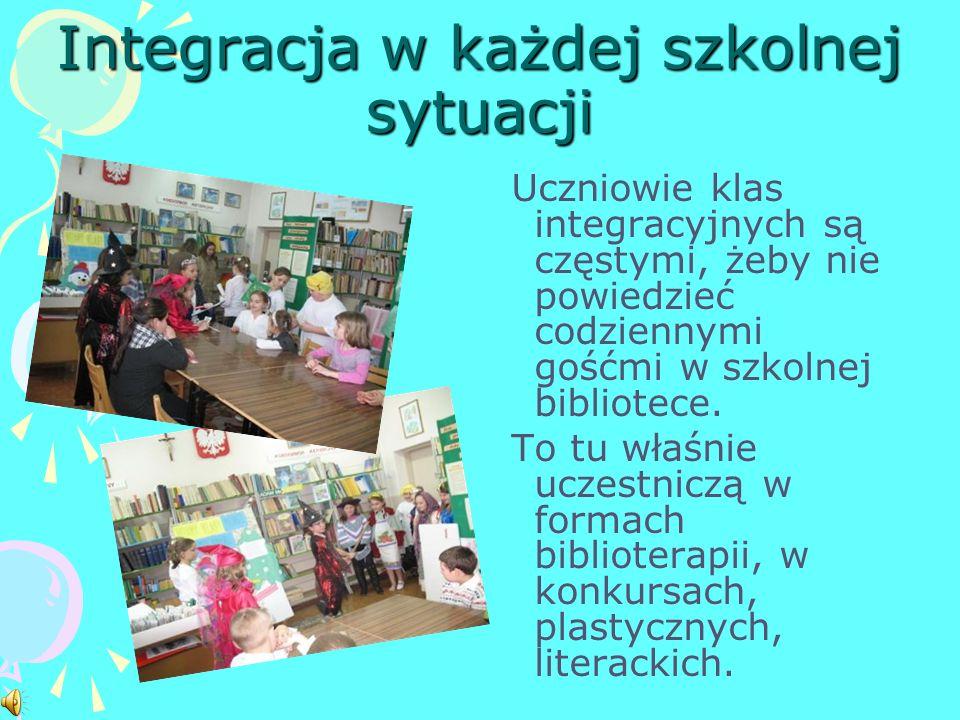 Integracja w każdej szkolnej sytuacji