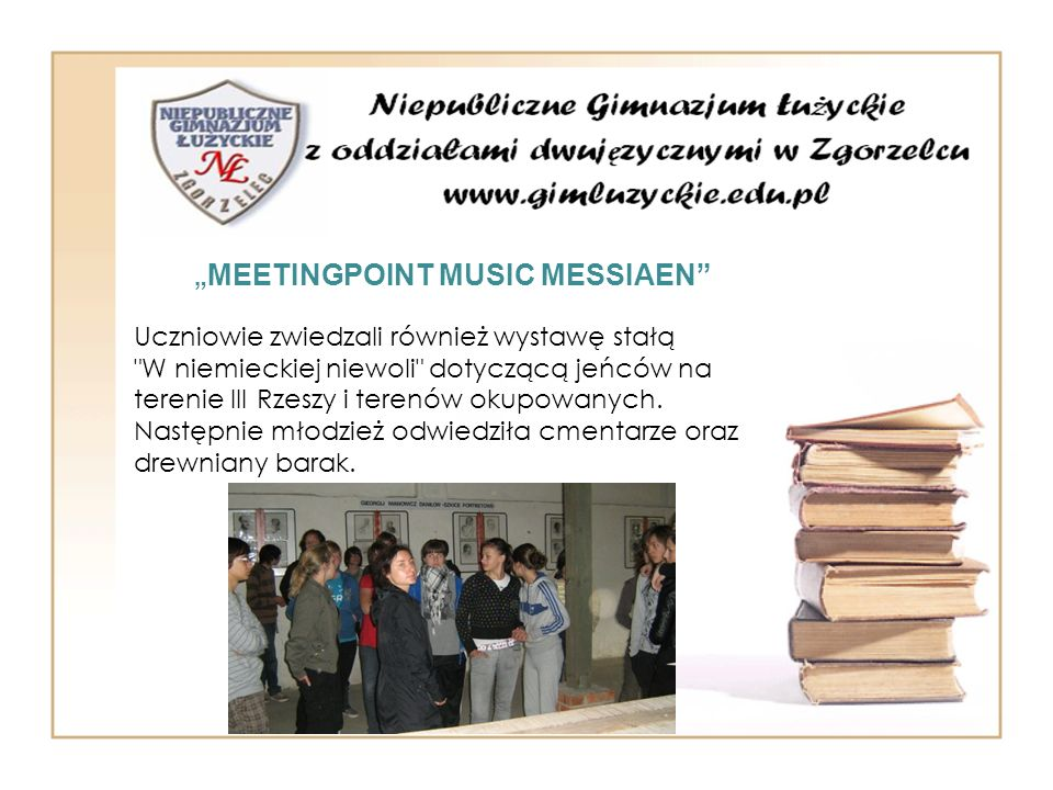 """MEETINGPOINT MUSIC MESSIAEN"