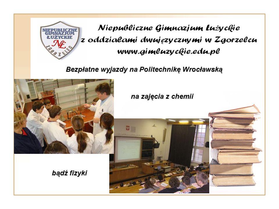Bezpłatne wyjazdy na Politechnikę Wrocławską.