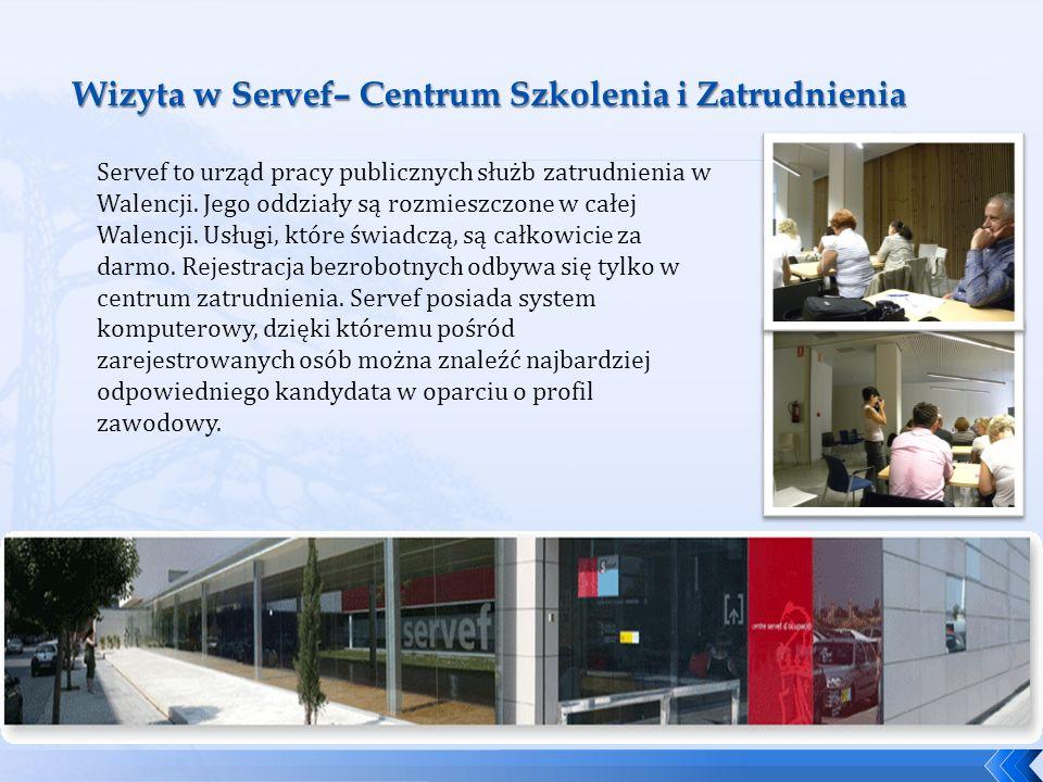 Wizyta w Servef– Centrum Szkolenia i Zatrudnienia