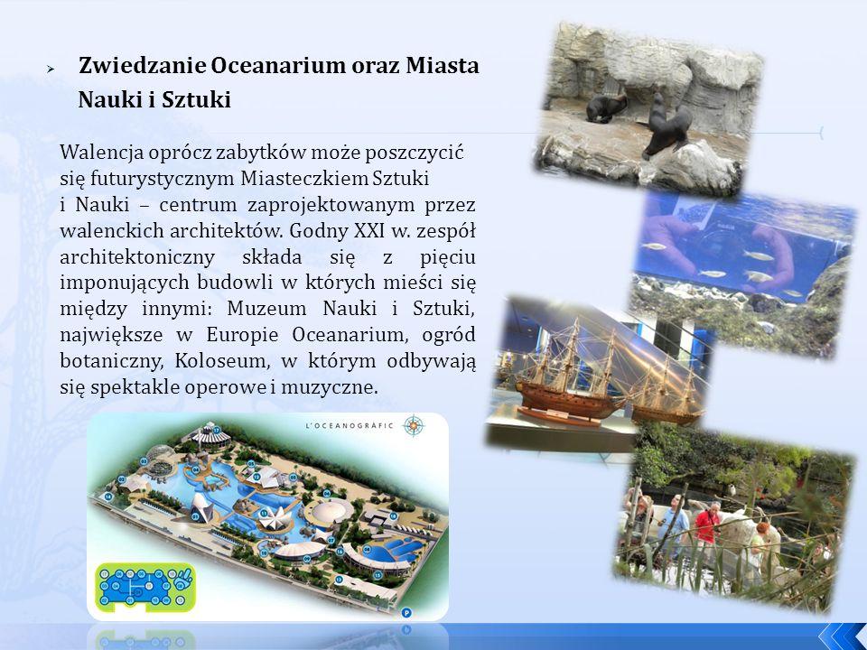 Zwiedzanie Oceanarium oraz Miasta Nauki i Sztuki