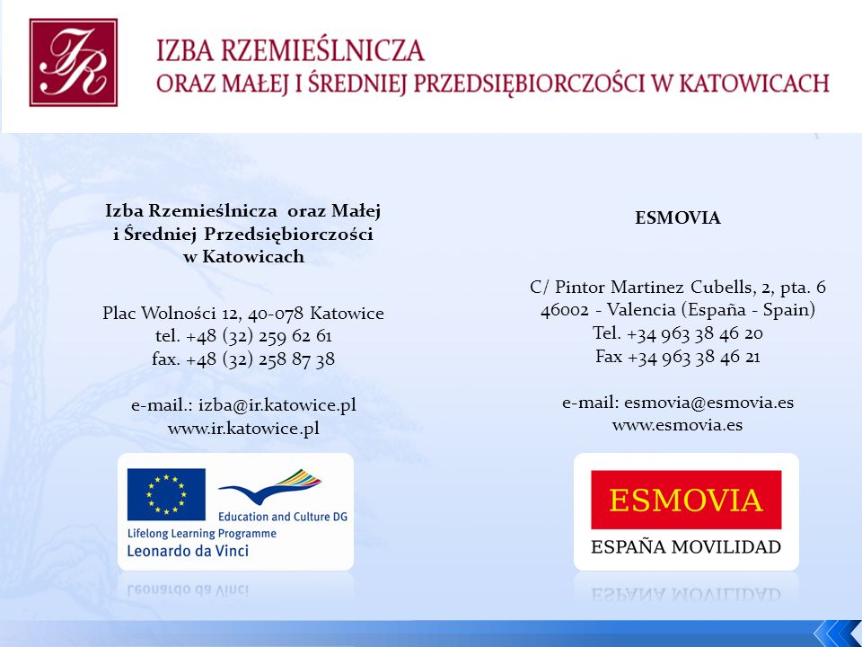 Izba Rzemieślnicza oraz Małej i Średniej Przedsiębiorczości w Katowicach