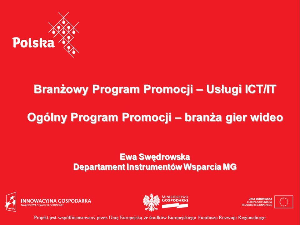 Branżowy Program Promocji – Usługi ICT/IT