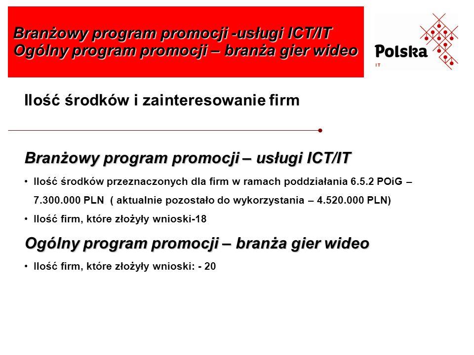 Branżowy program promocji -usługi ICT/IT