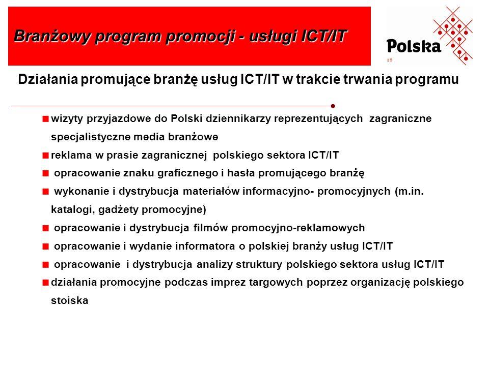 Branżowy program promocji - usługi ICT/IT
