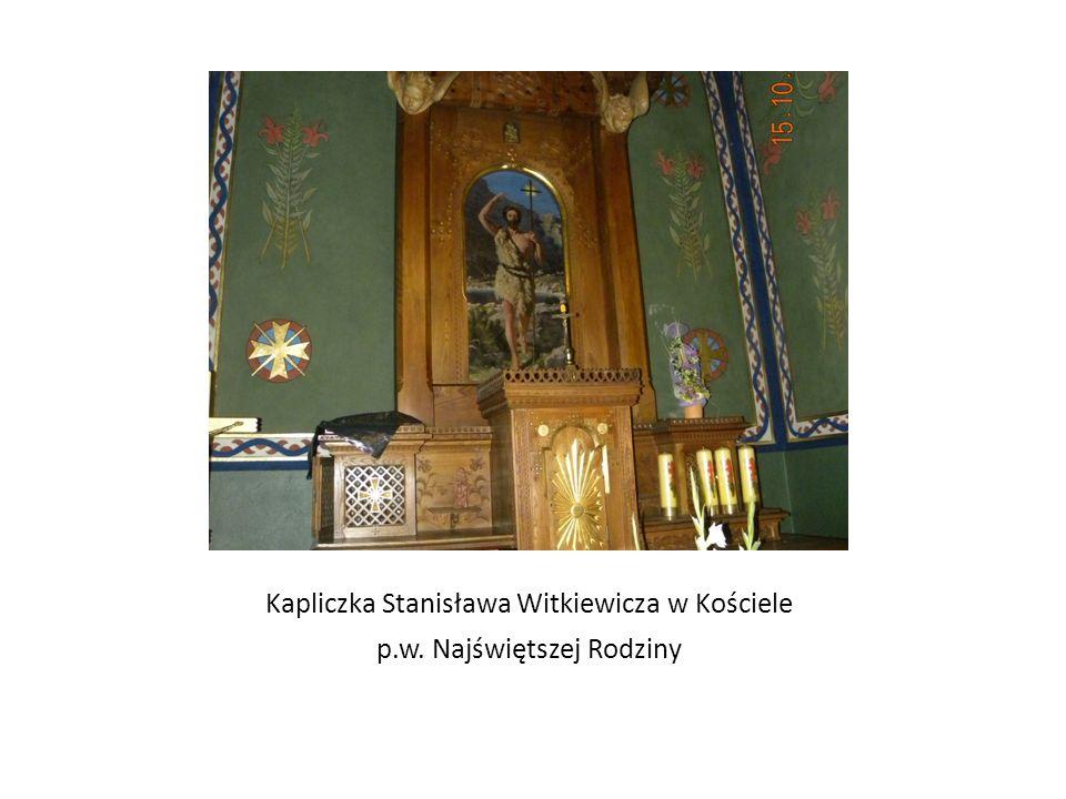 Kapliczka Stanisława Witkiewicza w Kościele