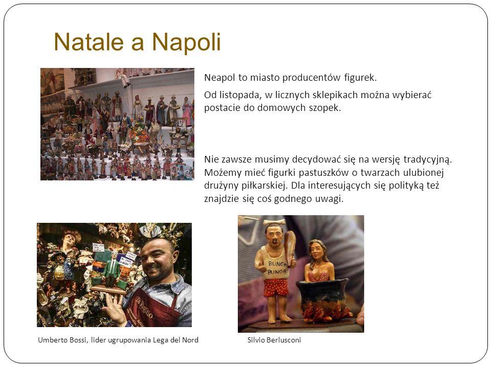 Natale a Napoli Neapol to miasto producentów figurek.