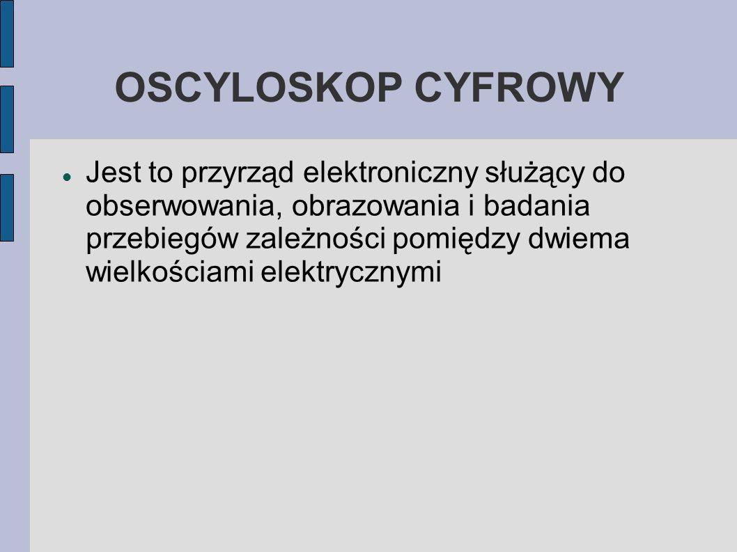OSCYLOSKOP CYFROWY