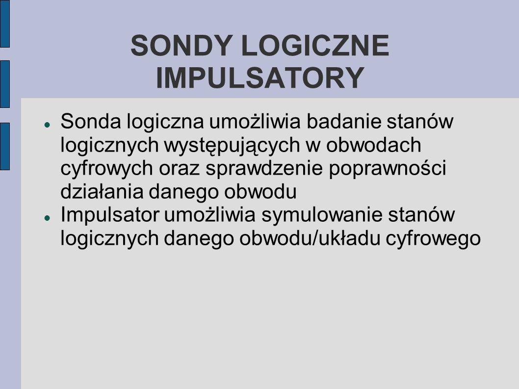 SONDY LOGICZNE IMPULSATORY
