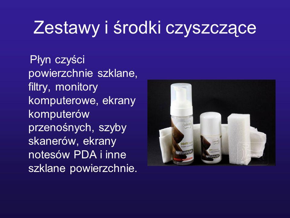 Zestawy i środki czyszczące