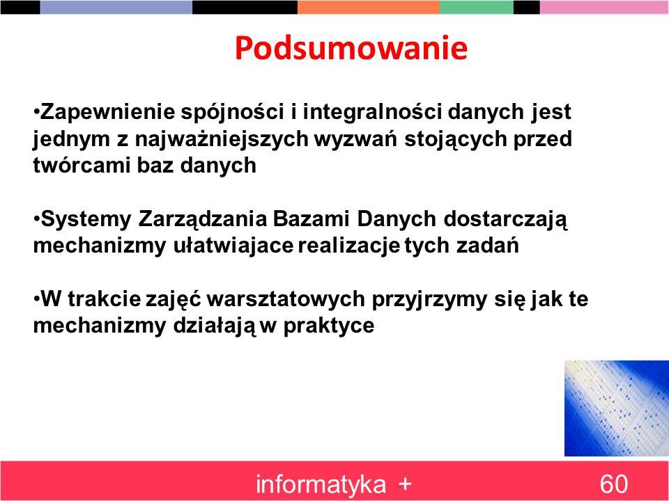 Podsumowanie informatyka +