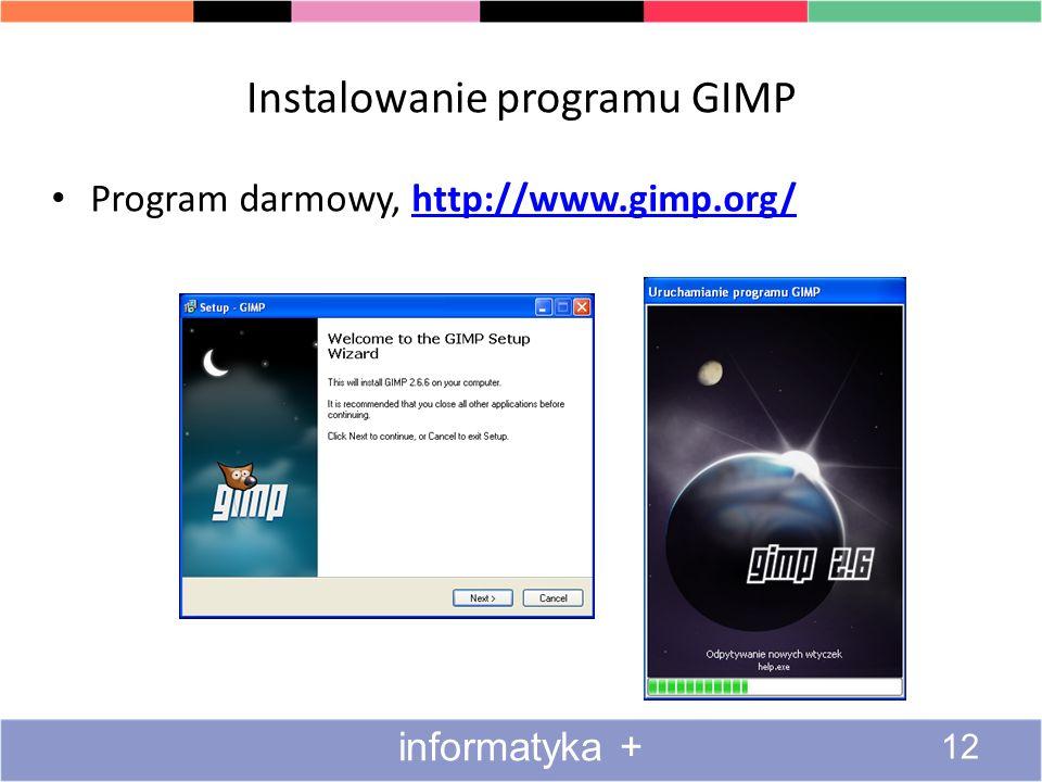 Instalowanie programu GIMP