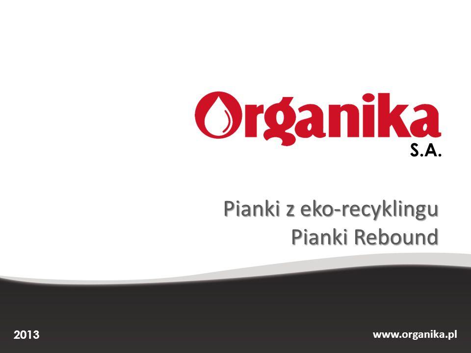 Pianki z eko-recyklingu Pianki Rebound