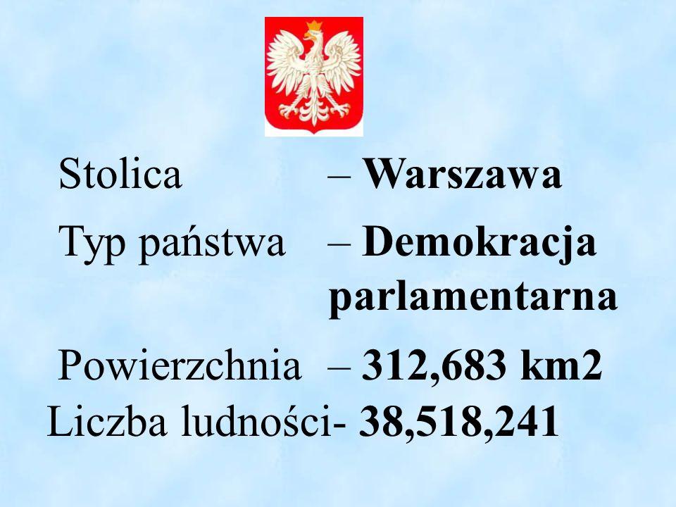 Stolica – Warszawa Typ państwa – Demokracja parlamentarna.