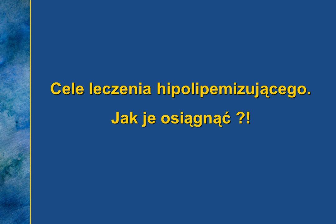 Cele leczenia hipolipemizującego. Jak je osiągnąć !