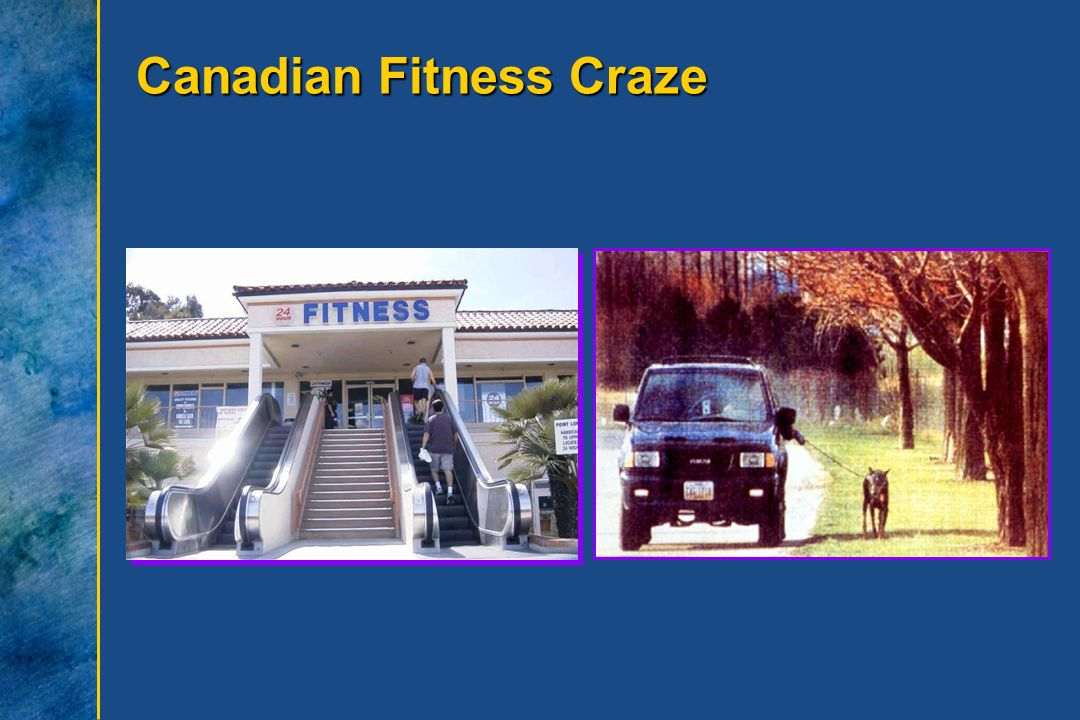 Canadian Fitness Craze