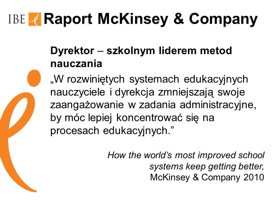 Raport McKinsey & Company