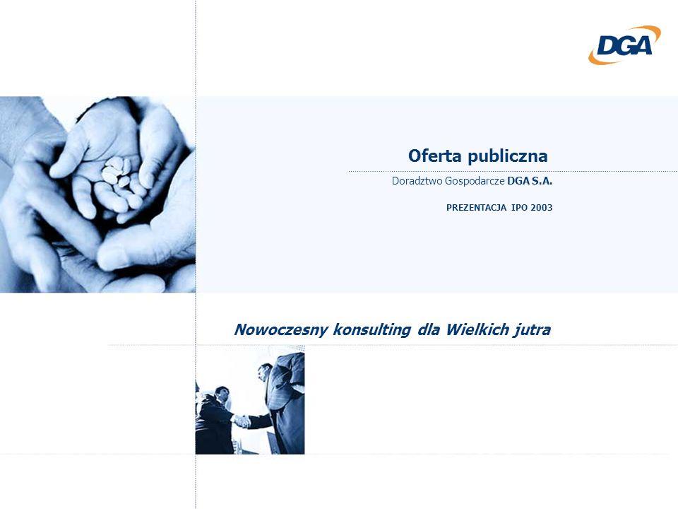 Oferta publiczna Nowoczesny konsulting dla Wielkich jutra