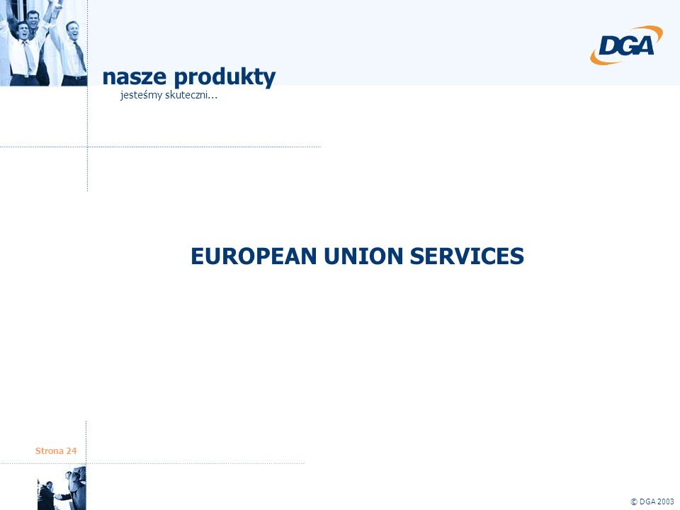 EUROPEAN UNION SERVICES