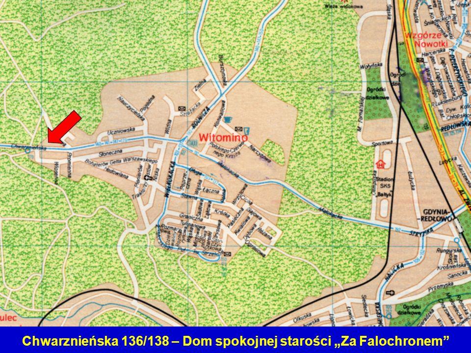 """Chwarznieńska 136/138 – Dom spokojnej starości """"Za Falochronem"""