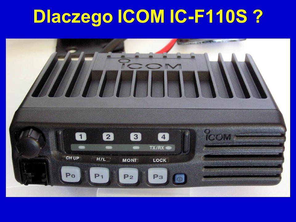 Dlaczego ICOM IC-F110S