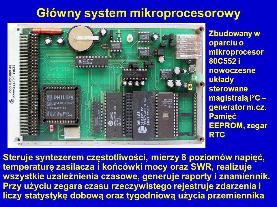 Główny system mikroprocesorowy
