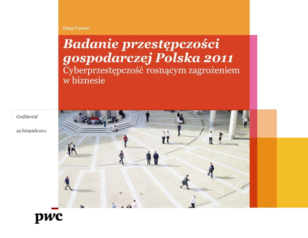 Badanie przestępczości gospodarczej Polska 2011