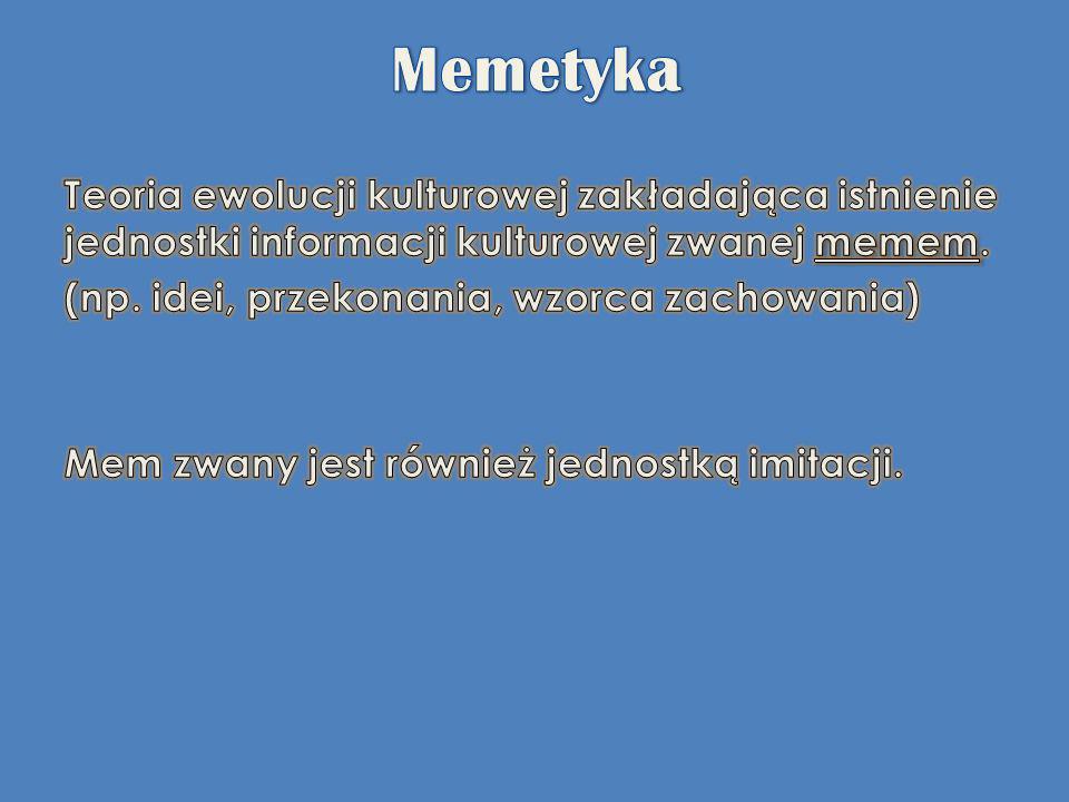 Memetyka