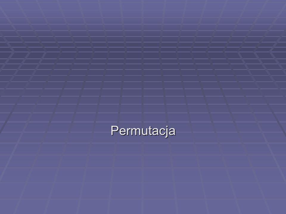 Permutacja