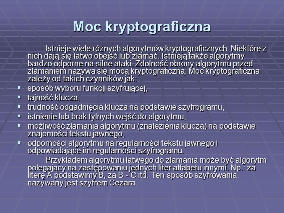 Moc kryptograficzna