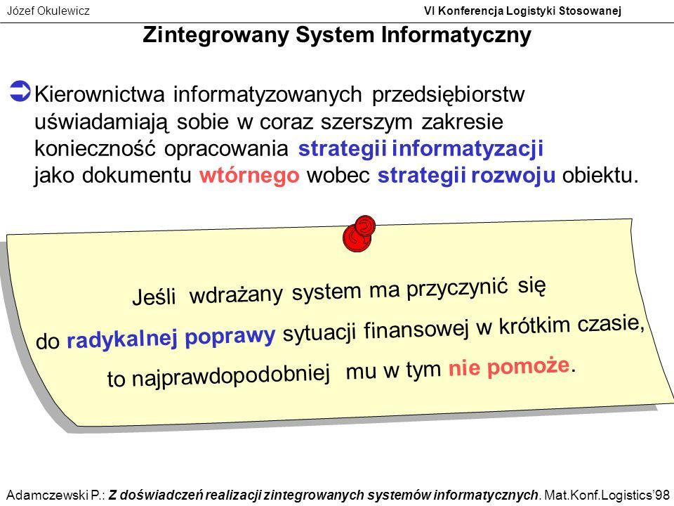 Zintegrowany System Informatyczny