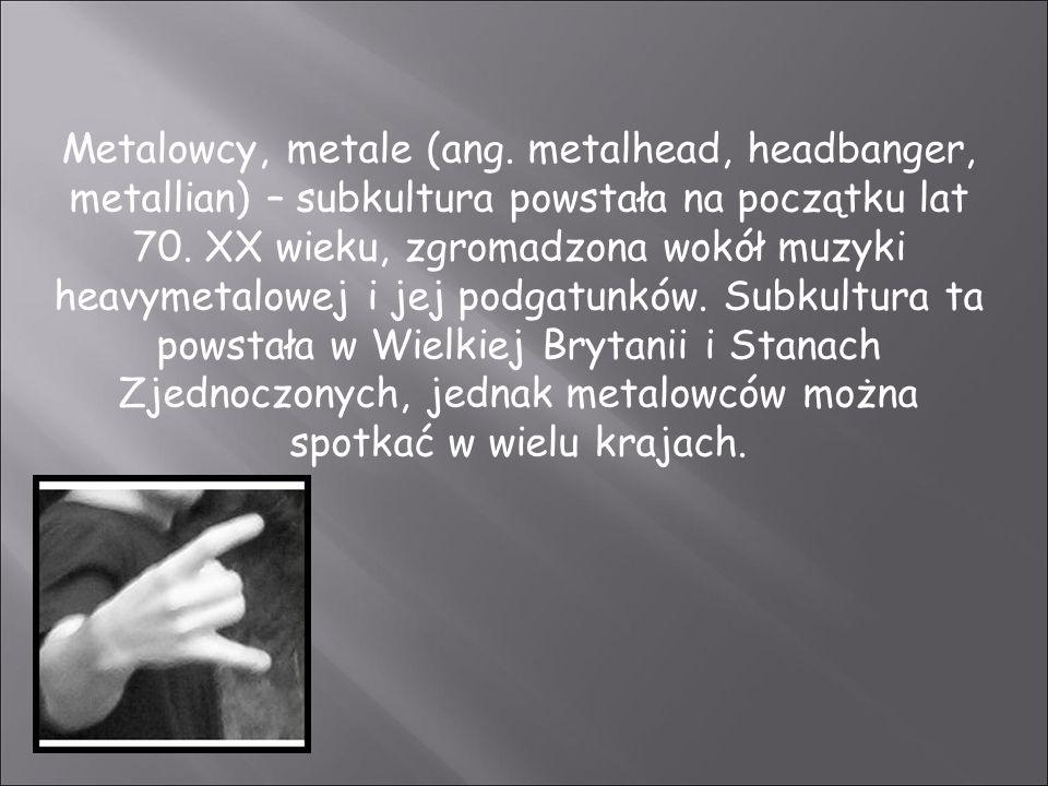 Metalowcy, metale (ang.