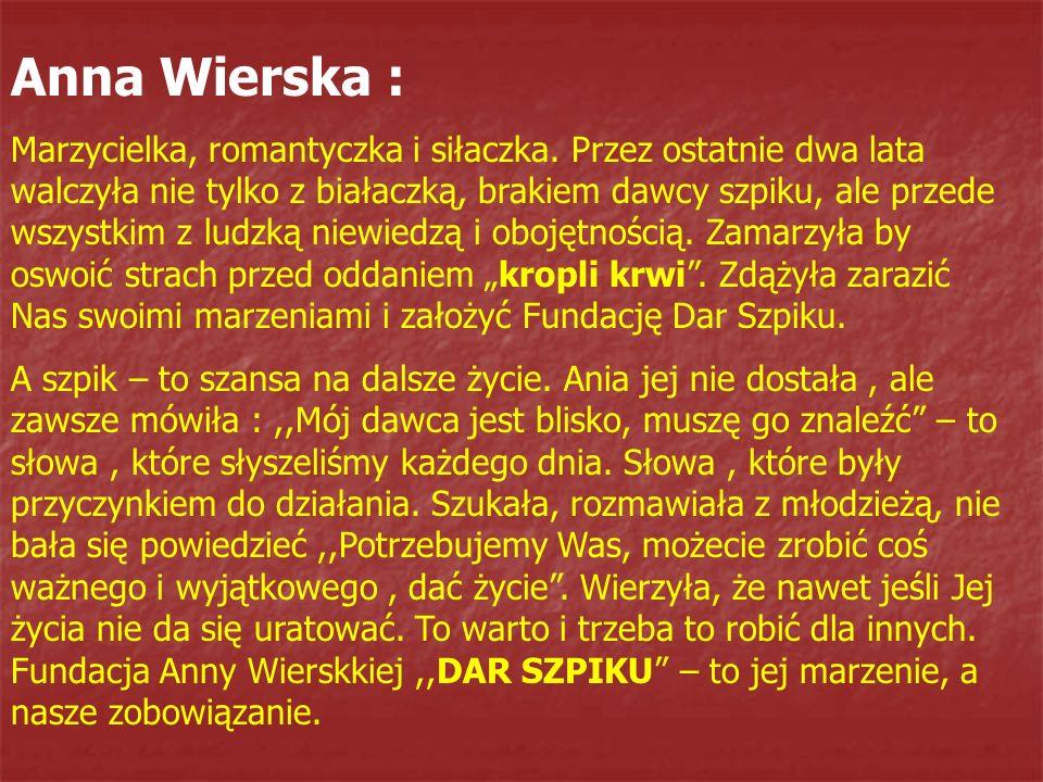 Anna Wierska :