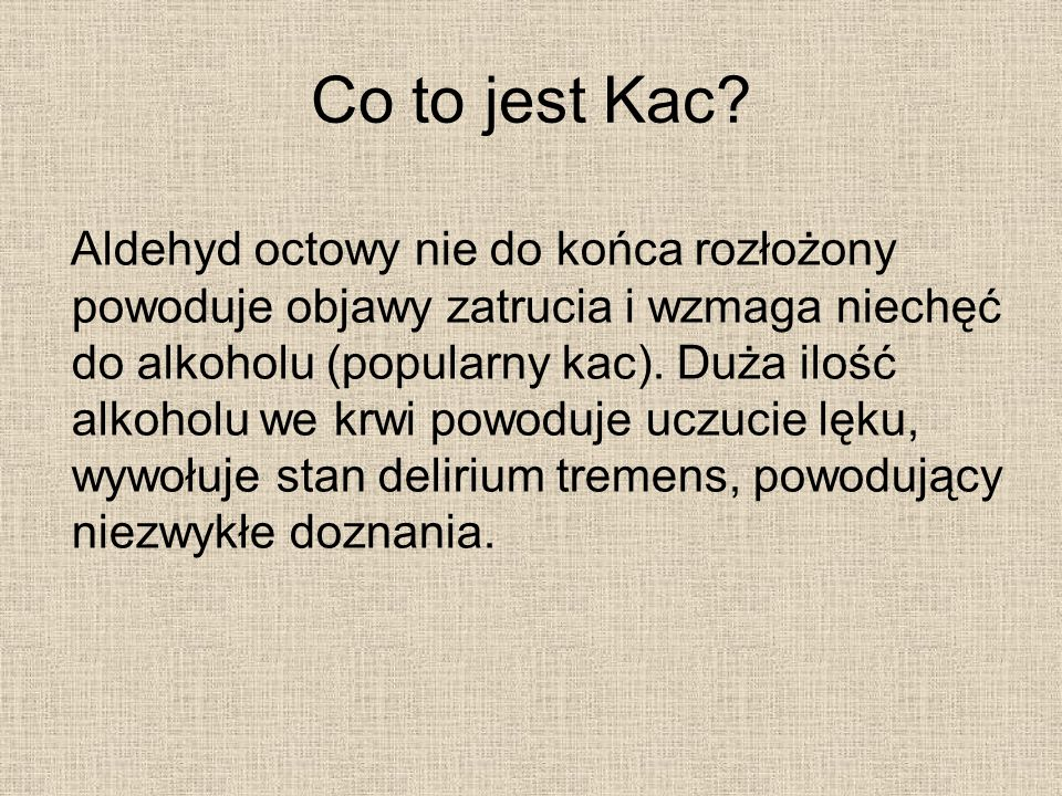 Co to jest Kac