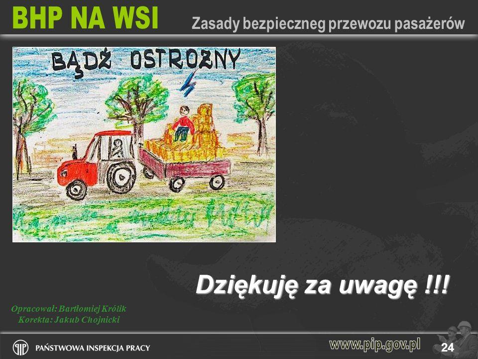 Opracował: Bartłomiej Królik Korekta: Jakub Chojnicki