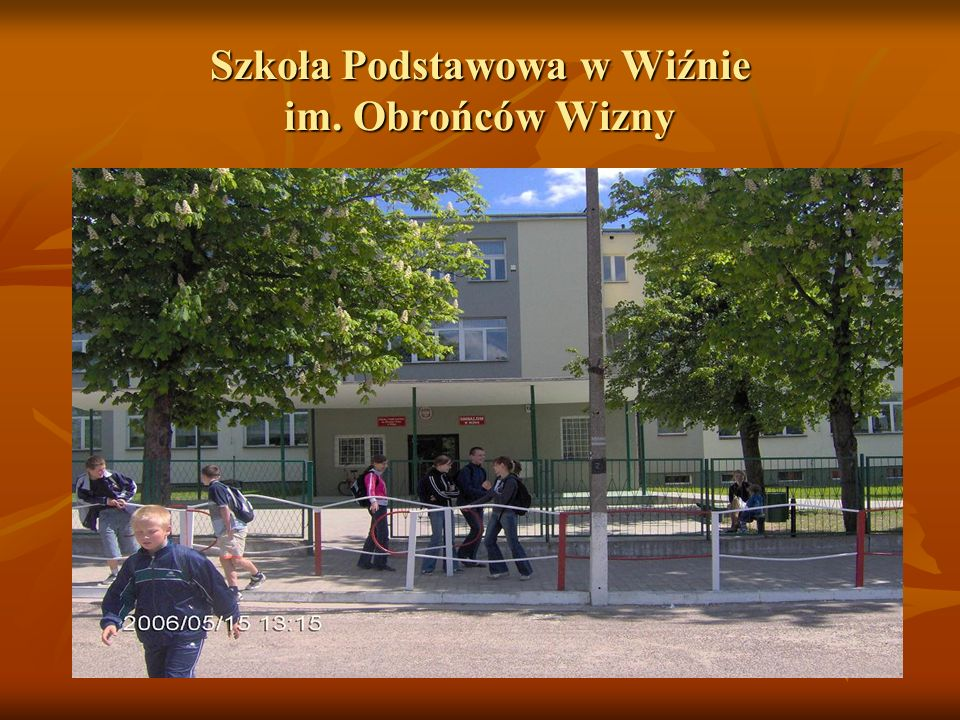 Szkoła Podstawowa w Wiźnie im. Obrońców Wizny