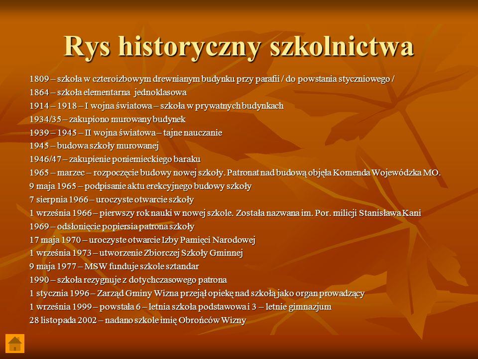 Rys historyczny szkolnictwa