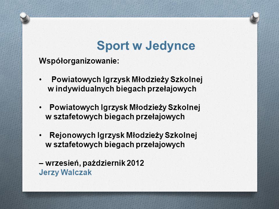 Sport w Jedynce Współorganizowanie: