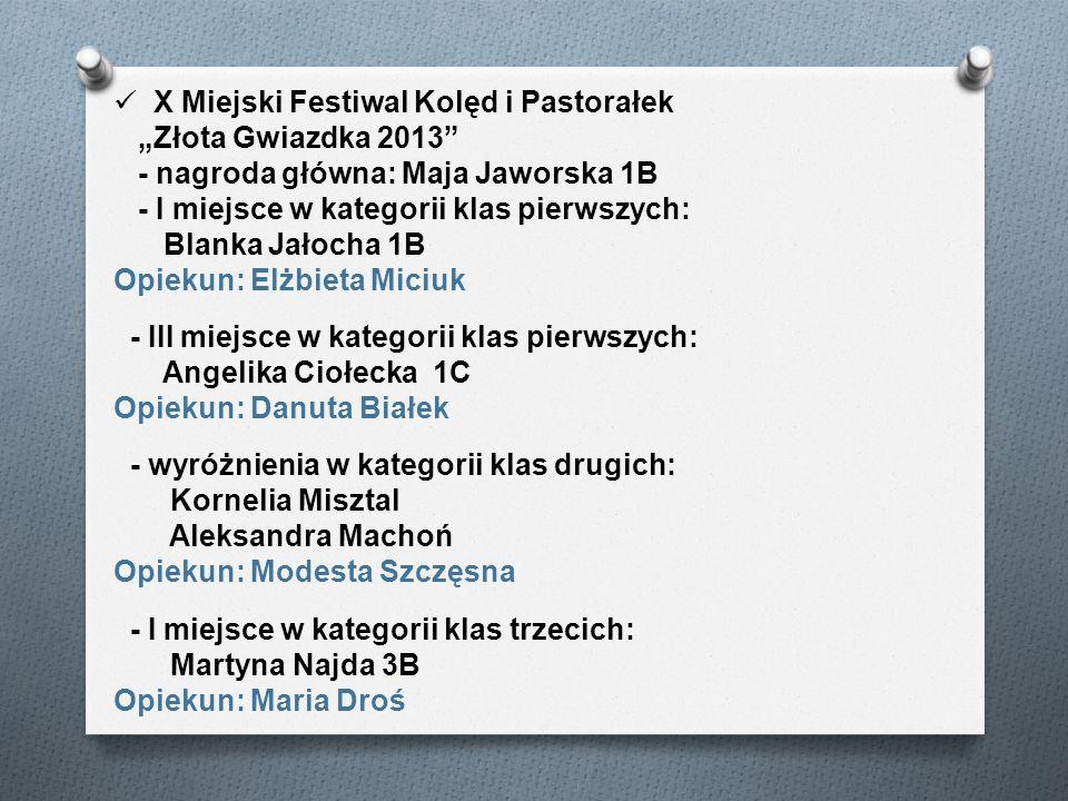 X Miejski Festiwal Kolęd i Pastorałek