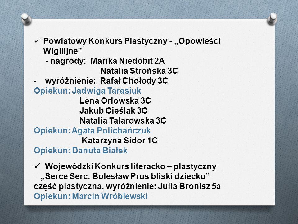 """Powiatowy Konkurs Plastyczny - """"Opowieści Wigilijne"""