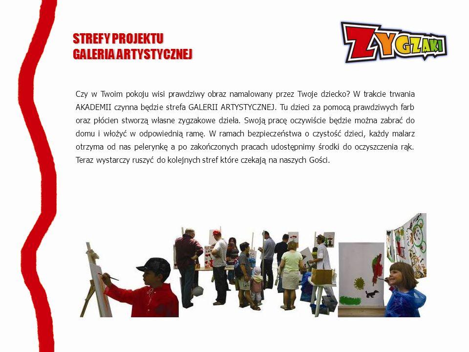 STREFY PROJEKTU GALERIA ARTYSTYCZNEJ