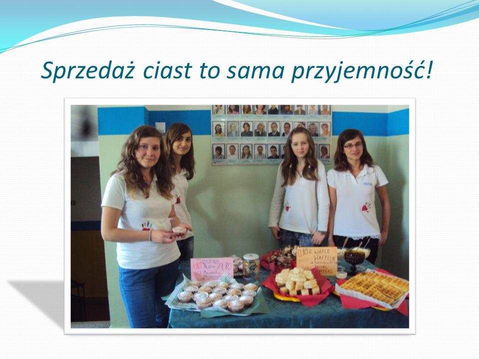 Sprzedaż ciast to sama przyjemność!