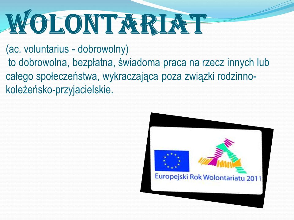 Wolontariat (ac.