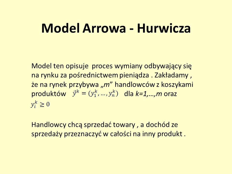Model Arrowa - Hurwicza