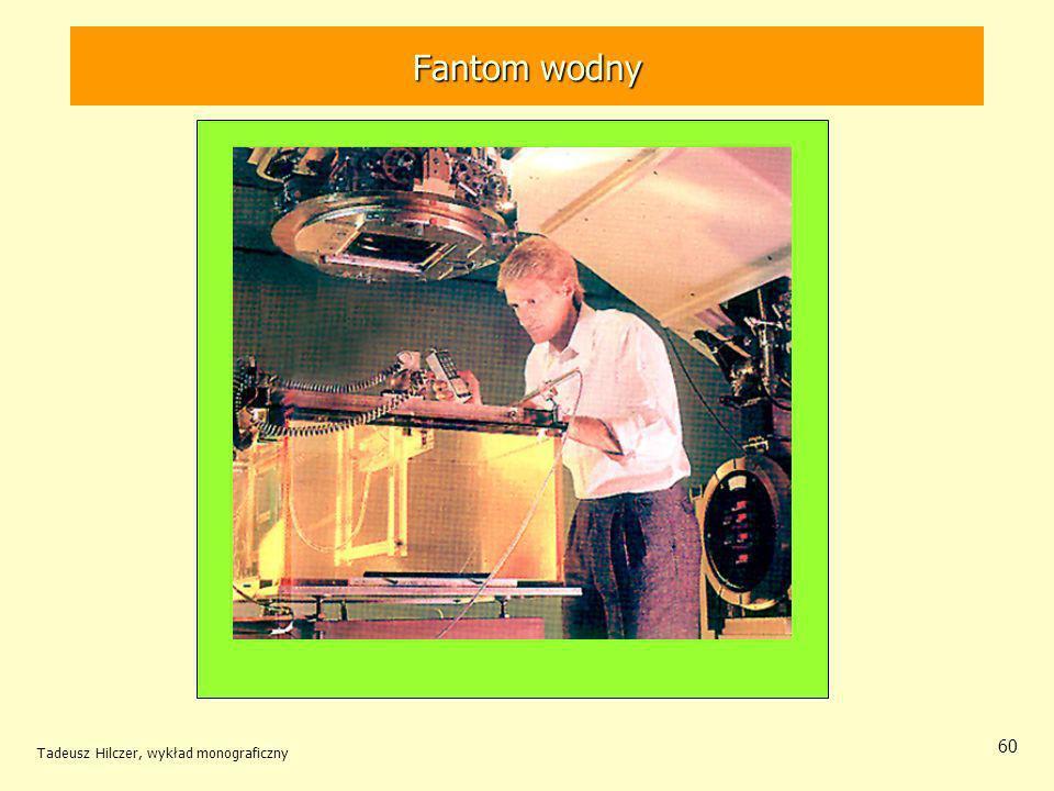 Fantom wodny Tadeusz Hilczer, wykład monograficzny